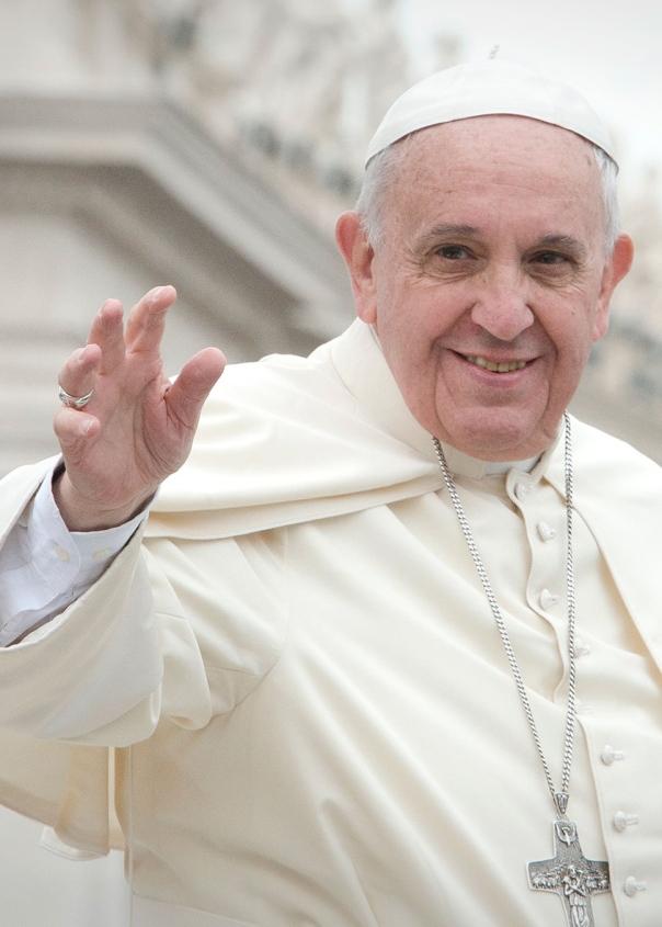 Scola presenta l'enciclica di Papa Francesco con Mentana, Martina, Palazzani, Fratta Pasini, Cocconcelli, Thorns